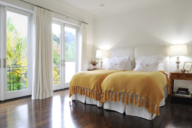 Beverly hills contemporary traditional bedroom los - Bedroom furniture in los angeles ...