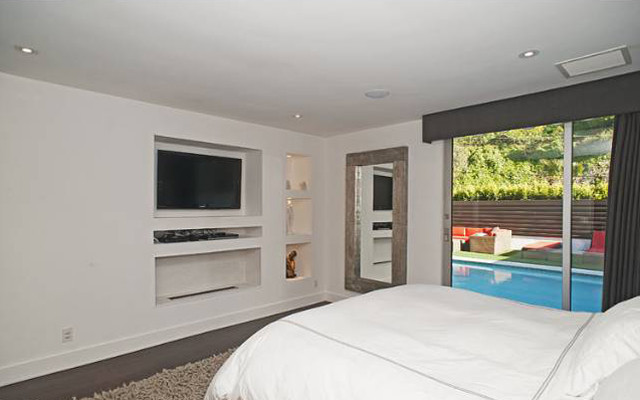 Beverly Hills Home Renovation modern-bedroom