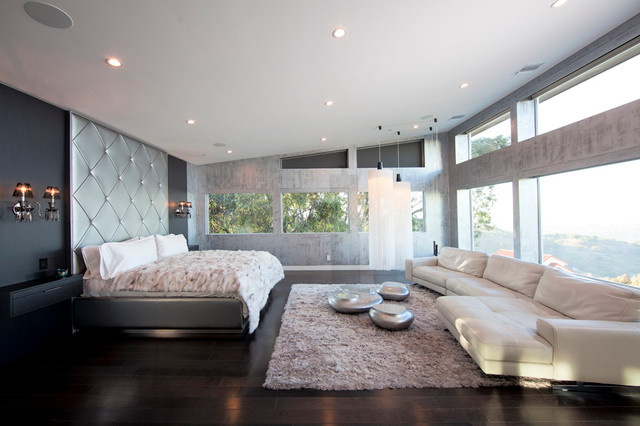 Beverly Hills Private Residence Modern Bedroom Los