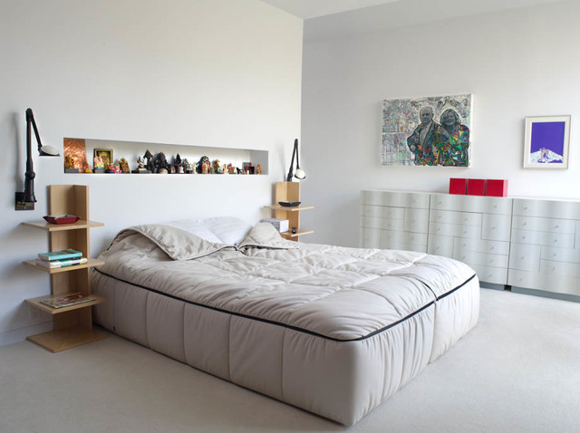 Beylerian House contemporary-bedroom