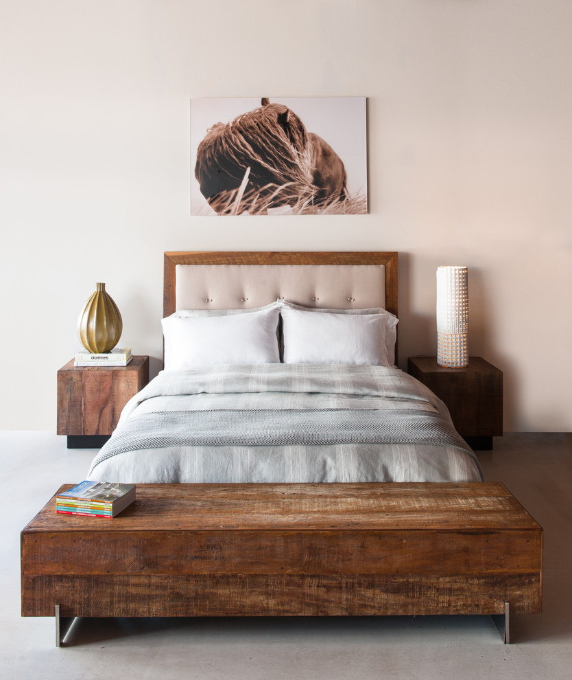 Big Sur Bed Leblon Cube End Tables Beam Coffee Table Contemporary Bedroom Los Angeles By Environment Furniture