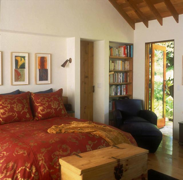 Big Sur Ranch contemporary-bedroom