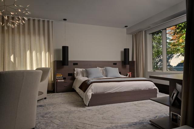 Binscarth House contemporary-bedroom
