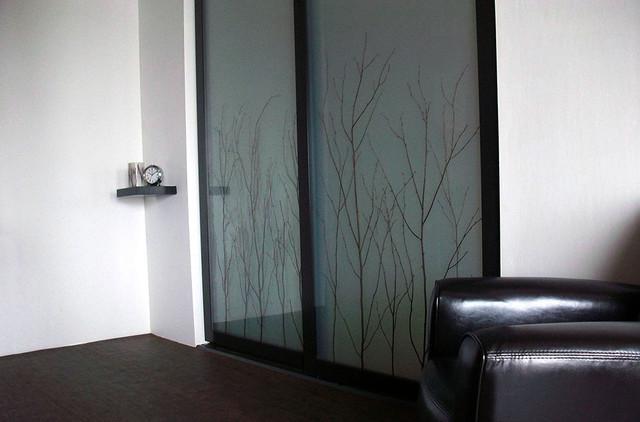 Birch Branch Thatch - Sliding Closet Doors / Room Dividers - Farmhouse - Bedroom - los angeles ...