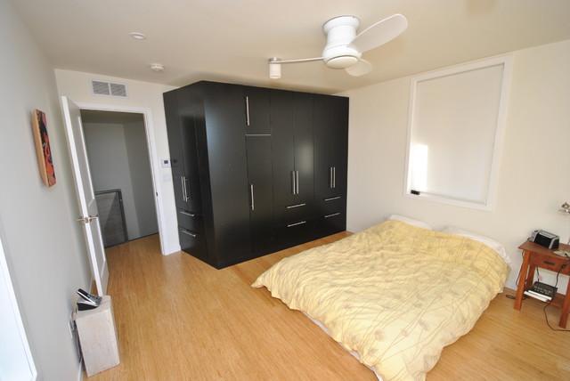 Blair House contemporary-bedroom