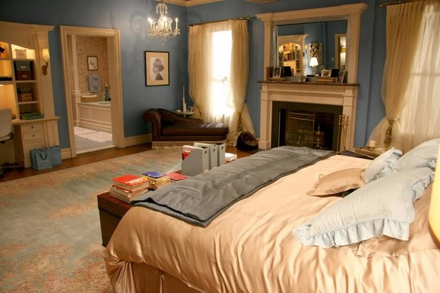 blair waldorf upper east side apartment bedroom traditional bedroom - Upper East Side Apartments