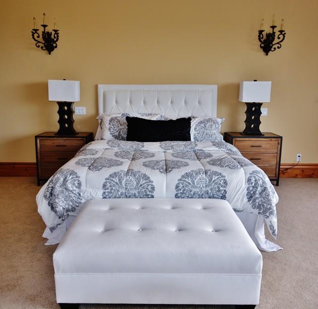 Home Staging - Palos Verdes, CA mediterranean-bedroom