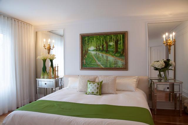 Blanc pur contemporary-bedroom