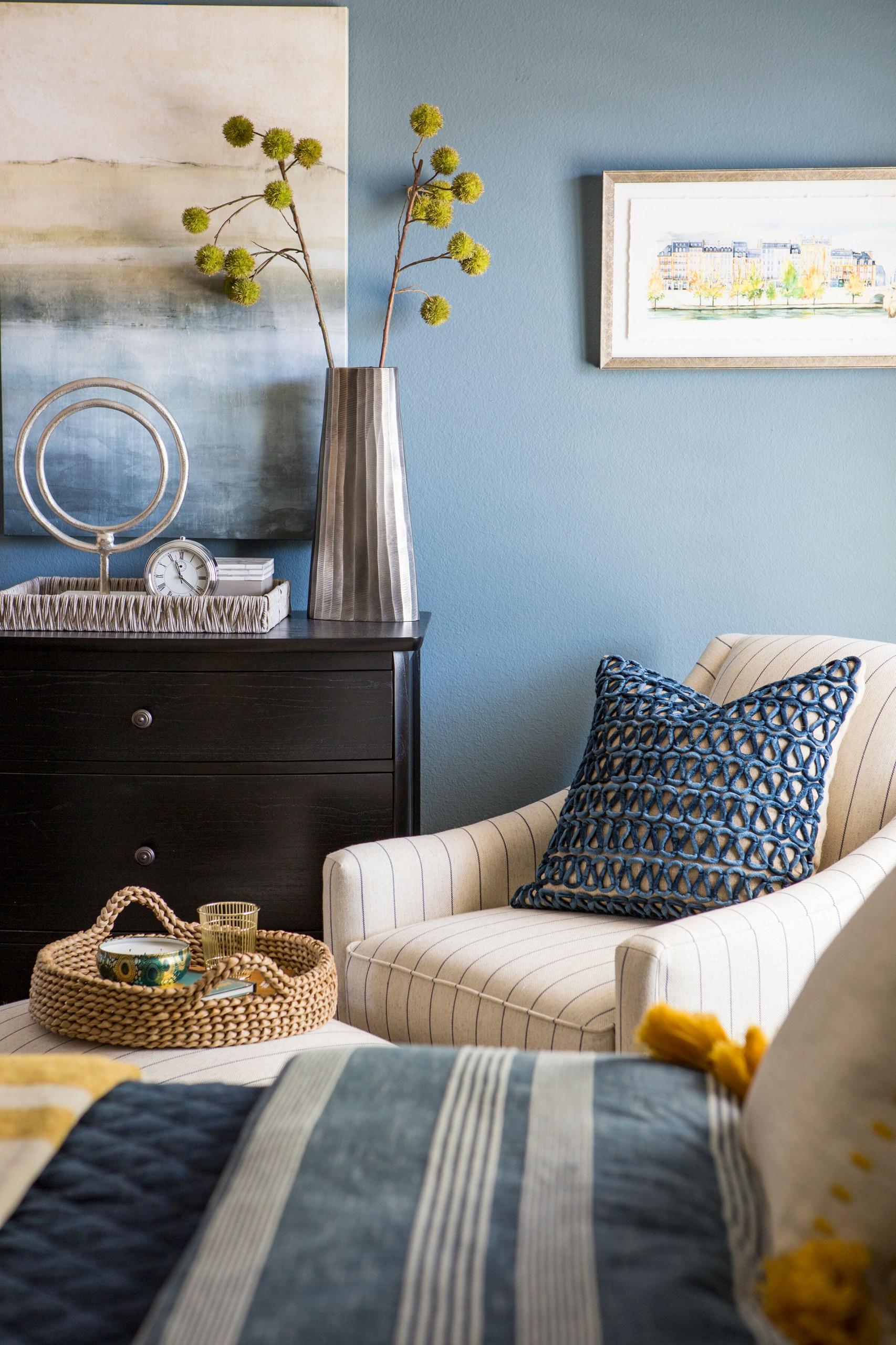 Blissful Blue Dreamy Bedroom