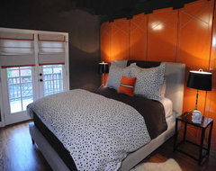 Blount Design eclectic bedroom
