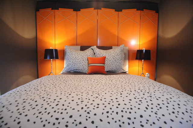 eclectic bedroom by Blount Architectual and Interior Design