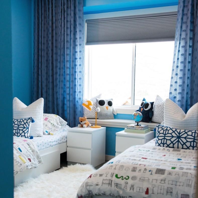 Blue Boy's Shared Bedroom