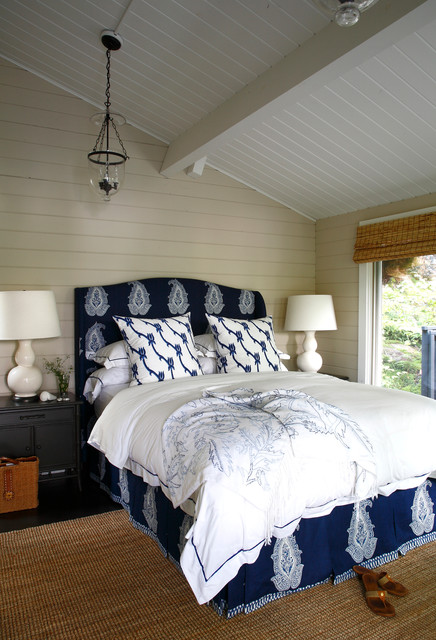 Blue Cottage Beach Style Bedroom Other By Lisa