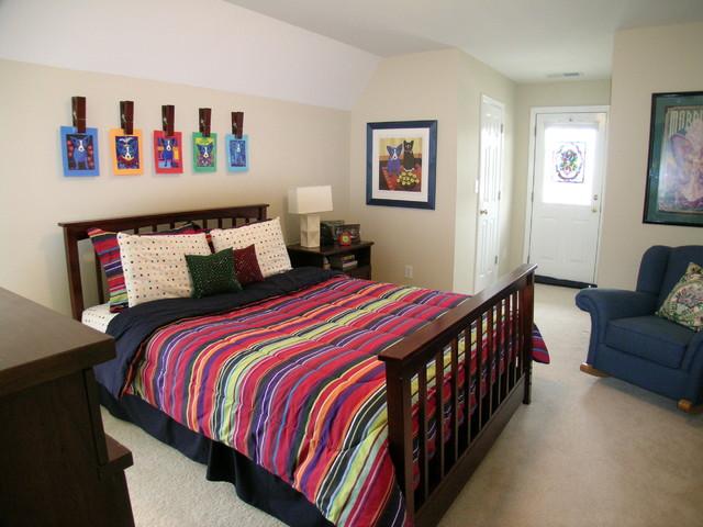 blue dog bedroom contemporary bedroom birmingham by g g