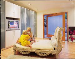 Blueridge residence contemporary-bedroom