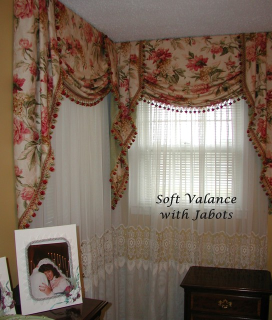 board mounted valances traditional bedroom other metro by the