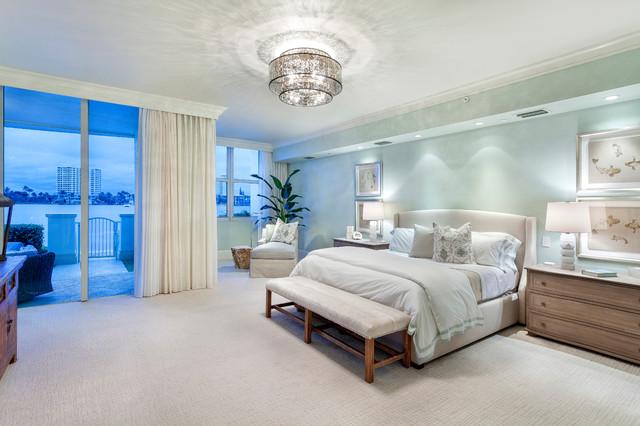 Boca Raton Condo Remodel Contemporary Bedroom Other
