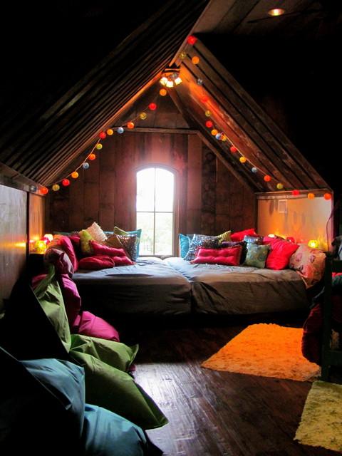 Bohemian Bunkroom - Eclectic - Bedroom - Dallas - by Hopkins Designs