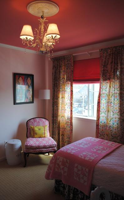 Bohemian Chic Bedroom Fyuzhn Spalnya Filadelfiya Ot Eksperta Segal Wilmot Interior Design Houzz Rossiya
