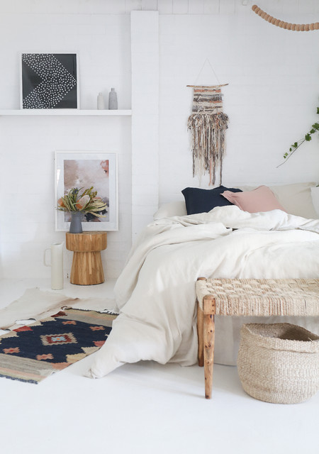 Bohemian Wall Tapestry - Shabby-Chic-Style - Schlafzimmer - Las ...