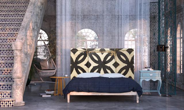 BoHo Chic bedroom eclectic-bedroom