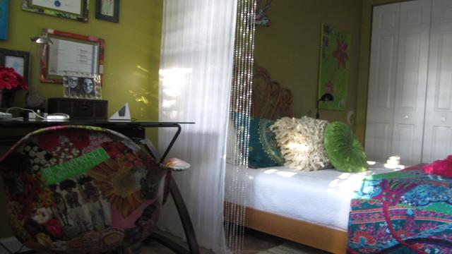 BoHo eclectic-bedroom
