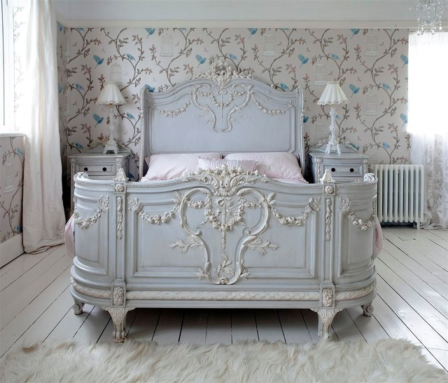 bonaparte french bed shabby chic style bedroom sussex by the french bedroom company. Black Bedroom Furniture Sets. Home Design Ideas