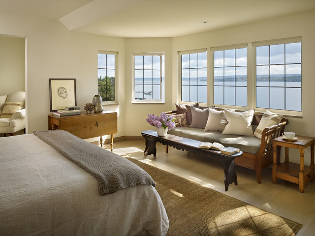 Traditional Bedroom by DeForest Architects