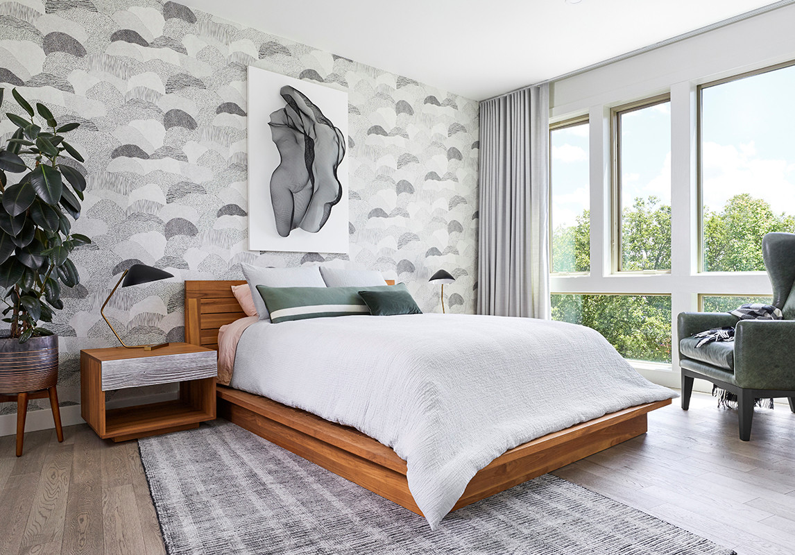 75 Beautiful Modern Master Bedroom Pictures Ideas February 2021 Houzz