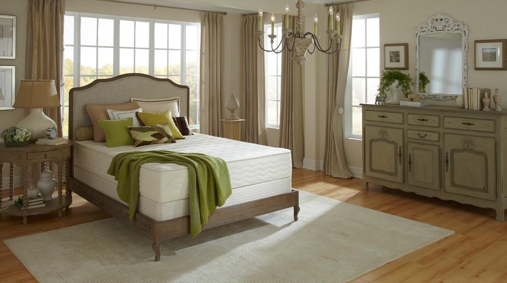 Bedroom - mediterranean bedroom idea in Wilmington