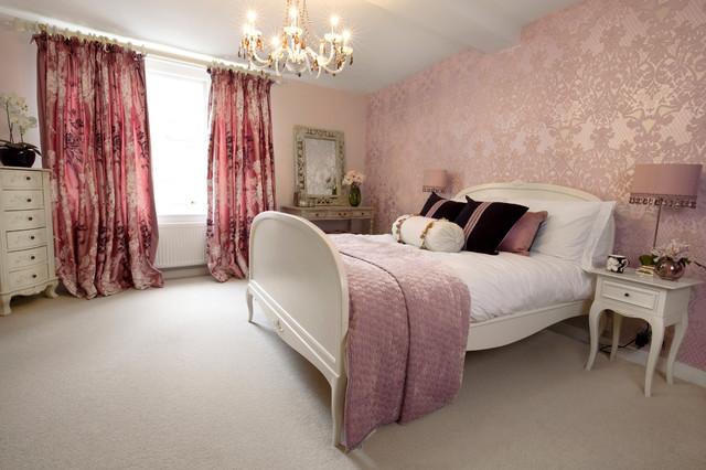 Boudoir Bedroom Eclectic Bedroom Oxfordshire By Lothian Design Houzz Ie