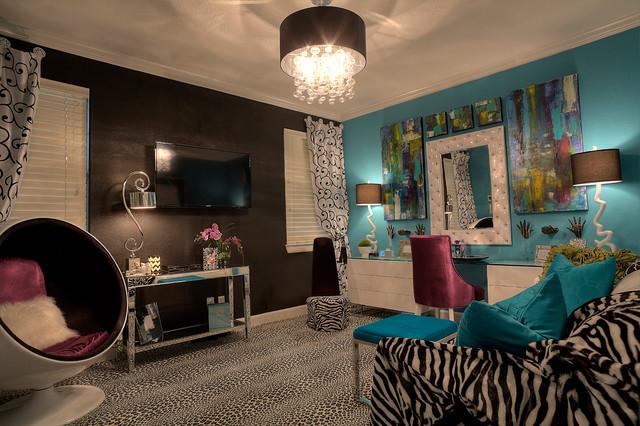 Boutique modern bedroom modern bedroom houston by for Boutique bedroom designs