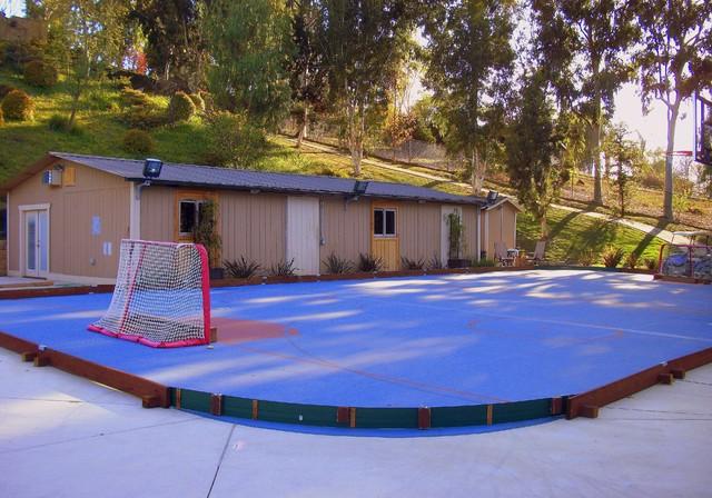 Example of a trendy bedroom design in Orange County. Boys Hockey Bedroom   Houzz