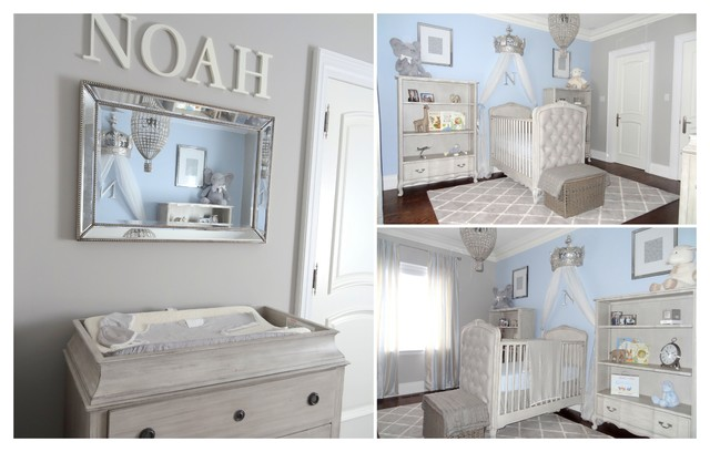 Boys Baby Nursery Traditional Bedroom