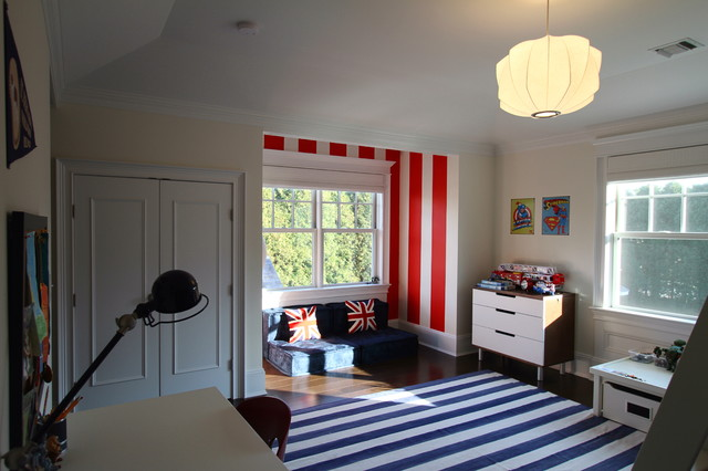 Eclectic Bedroom by Heartwood Corp