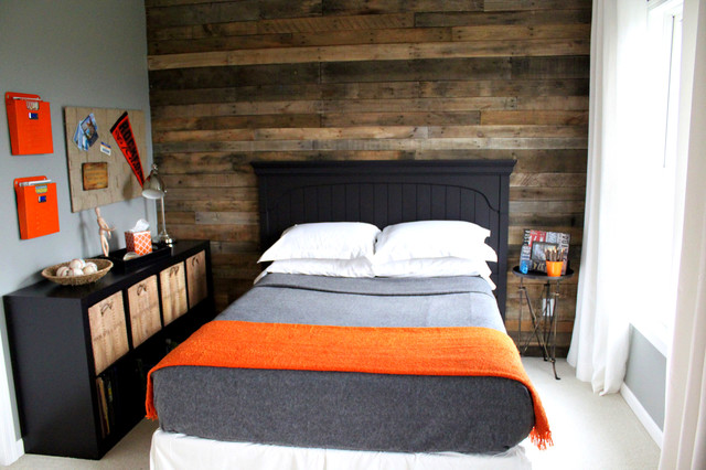 Boys Tween Room - contemporary - bedroom