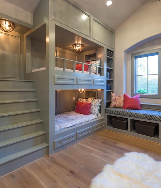 Braeburn Showcase Home Transitional Bedroom Houston