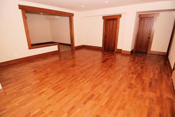 Brazilian cherry flooring prefinished 3 4 x 5 clear for Hardwood floors questions