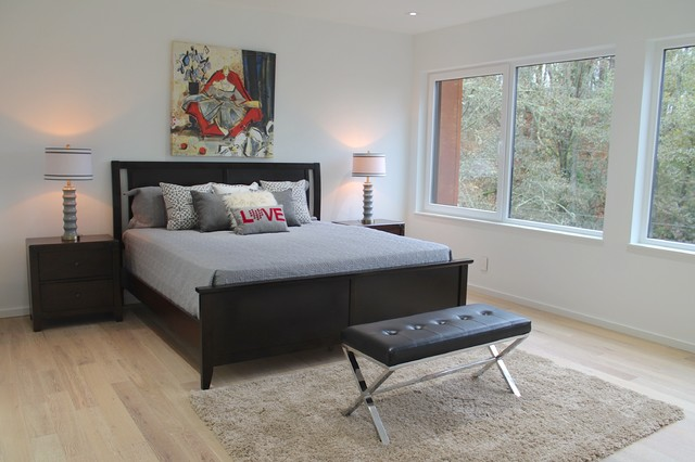 Breathtaking Contemporary Kirkland House Contemporary Bedroom Other By Seattle Staged To