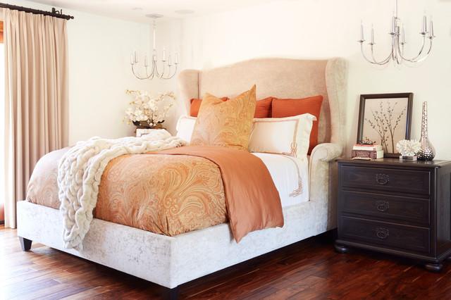 Brentwood traditional bedroom los angeles by eden - Bedroom furniture in los angeles ...