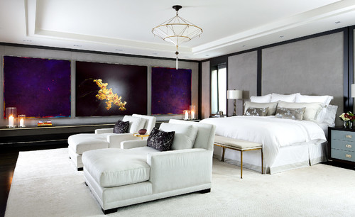 Contemporary Bedroom by Toronto Photographers Brandon Barré Architectural Interior Photographer