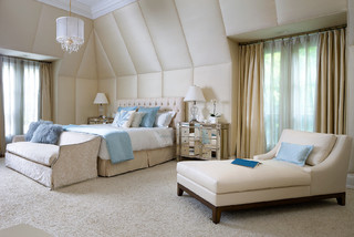 Brian Gluckstein Design Contemporary Bedroom Toronto