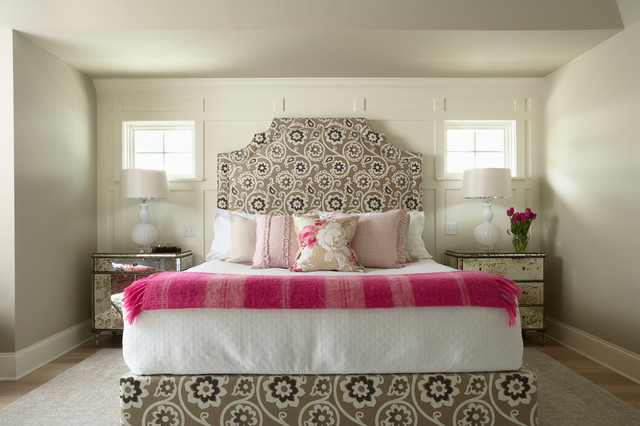 contemporary bedroom by Martha O'Hara Interiors