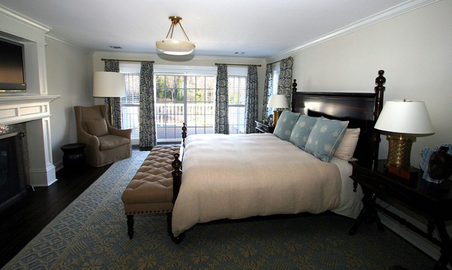 Bridgehampton Classic Beach Style Bedroom New York