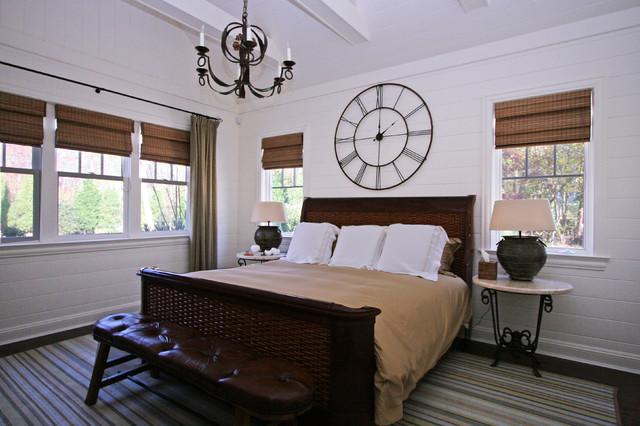 Bridgehampton Classic Beach Style Bedroom New York