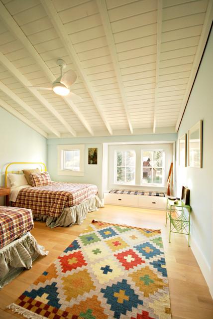 Bridger Canyon Residence farmhouse-bedroom