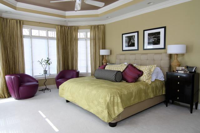 Bridget Beari Designs contemporary-bedroom