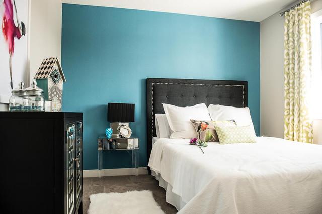 Bridgewater edgy modern decor eclectic bedroom for Edgy bedroom ideas