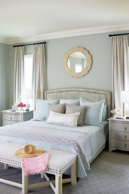 Bright And Bold Beach Style Bedroom Jacksonville By Andrew Howard Interior Design