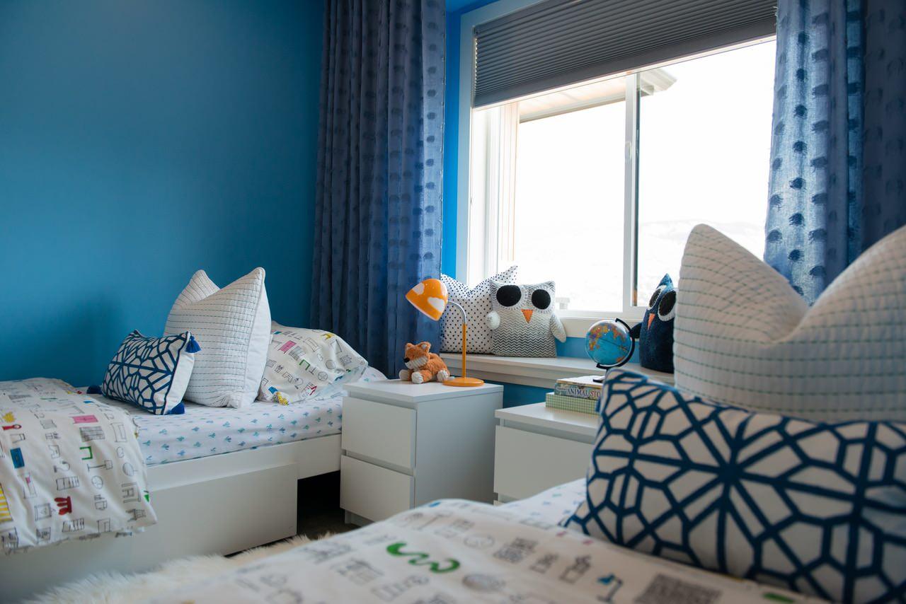 Bright + Bold Shared Bedroom
